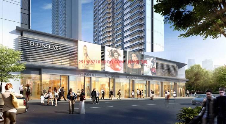 [武汉]现代典雅高层住宅设计模型SKP(gad)_10