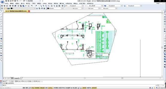 怎么在CAD中创建异形视口?CAD异形视口创建_1