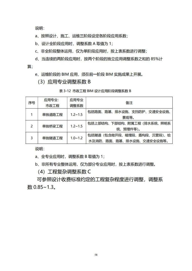 重庆市建筑市政工程勘察设计收费指导价新版_58