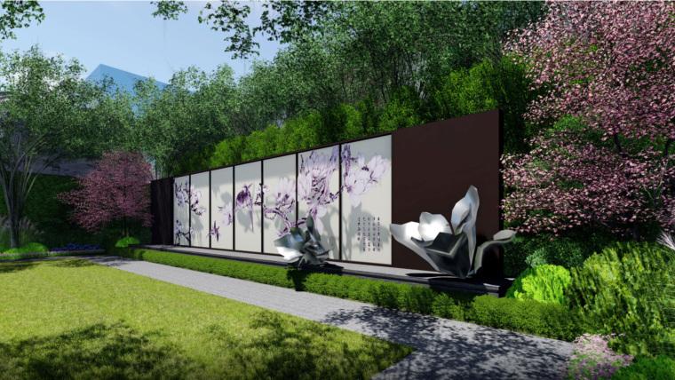 [湖南]现代东方风格示范区景观方案设计_1