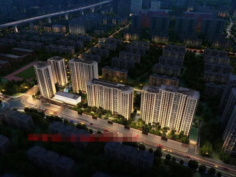 [上海]新中式豪宅住宅设计模型SU(2020)_1