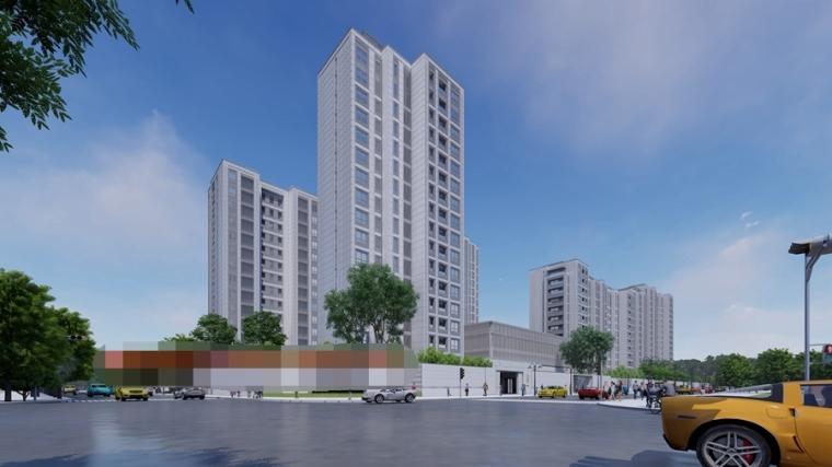 [上海]新中式豪宅住宅设计模型SU(2020)_3