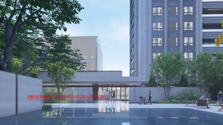 [上海]新中式豪宅住宅设计模型SU(2020)_5