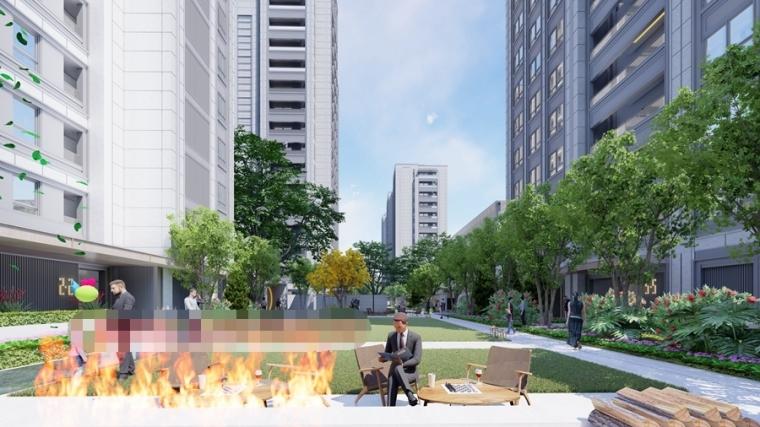 [上海]新中式豪宅住宅设计模型SU(2020)_4