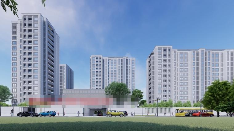 [上海]新中式豪宅住宅设计模型SU(2020)_8