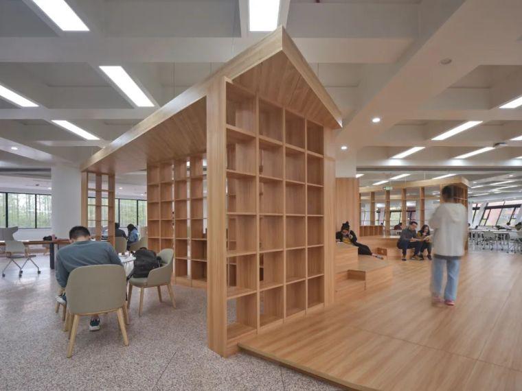 新作|上海交大包玉刚图书馆空间改造_33