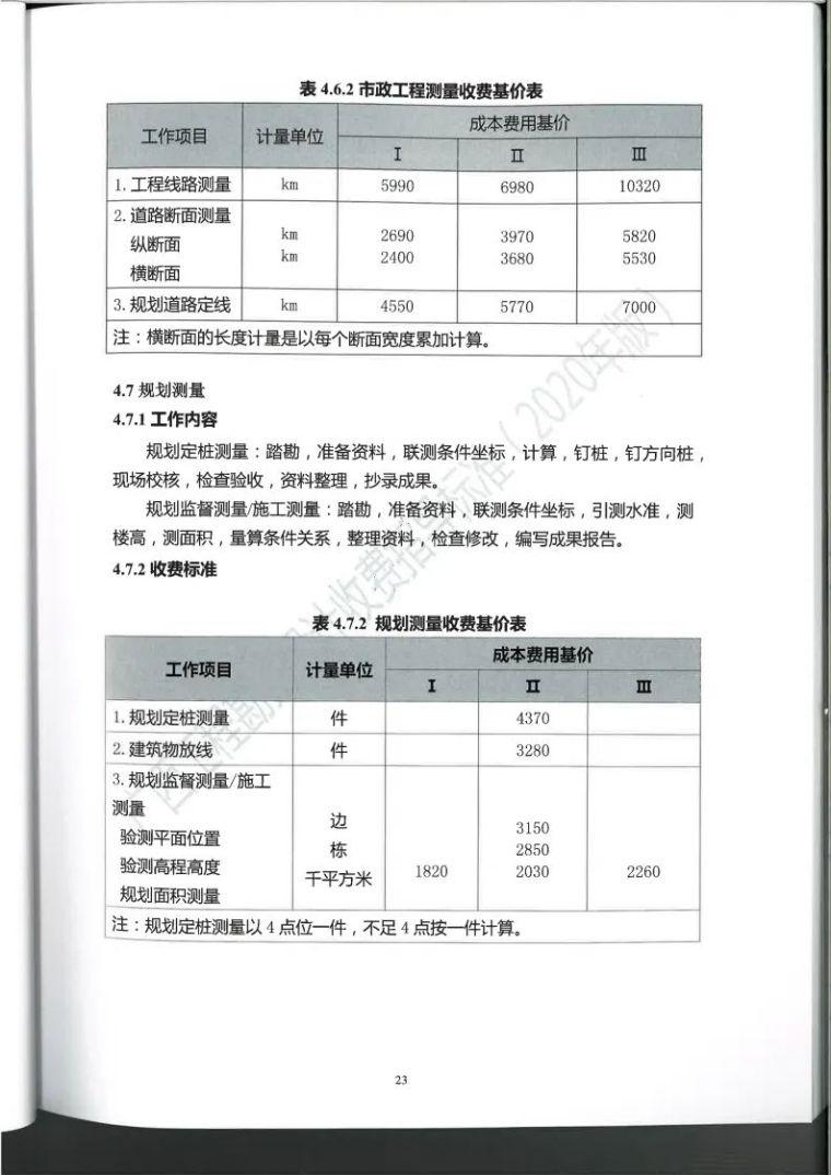 广西勘察设计收费指导标准更新版,建议收藏_36