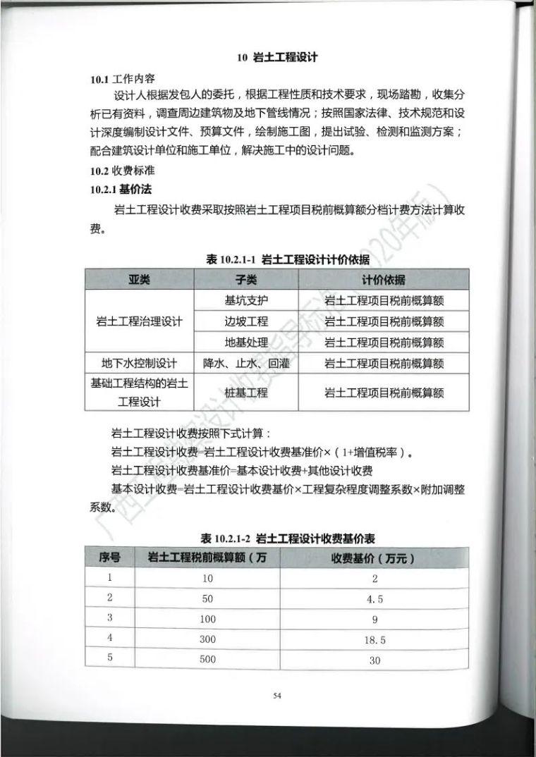 广西勘察设计收费指导标准更新版,建议收藏_65
