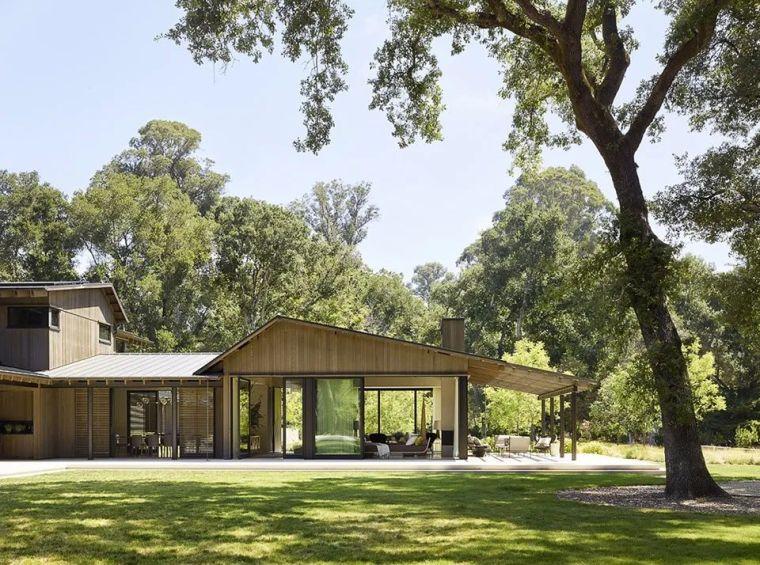 享受住宅乃至整个场地-橡树林住宅_2