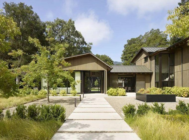 享受住宅乃至整个场地-橡树林住宅_3