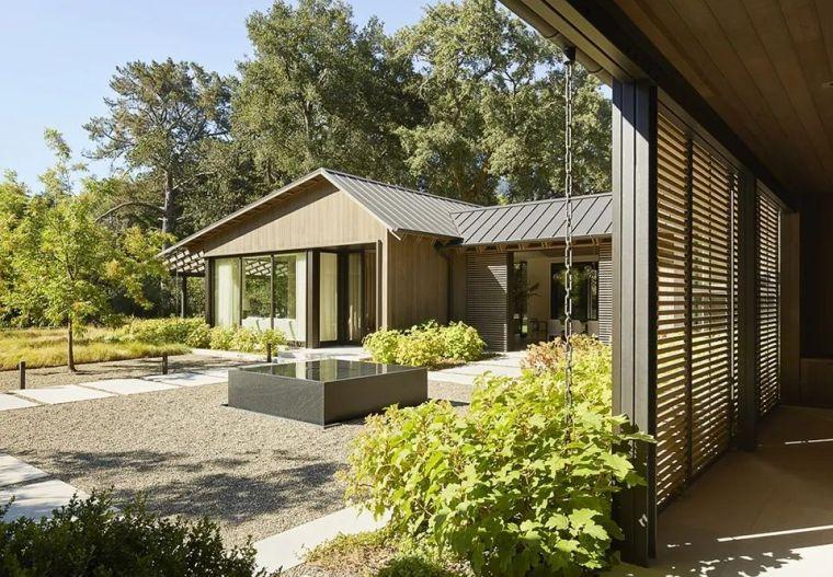 享受住宅乃至整个场地-橡树林住宅_4