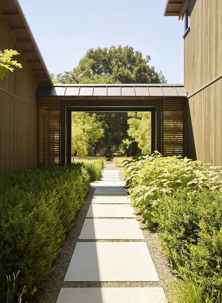 享受住宅乃至整个场地-橡树林住宅_5