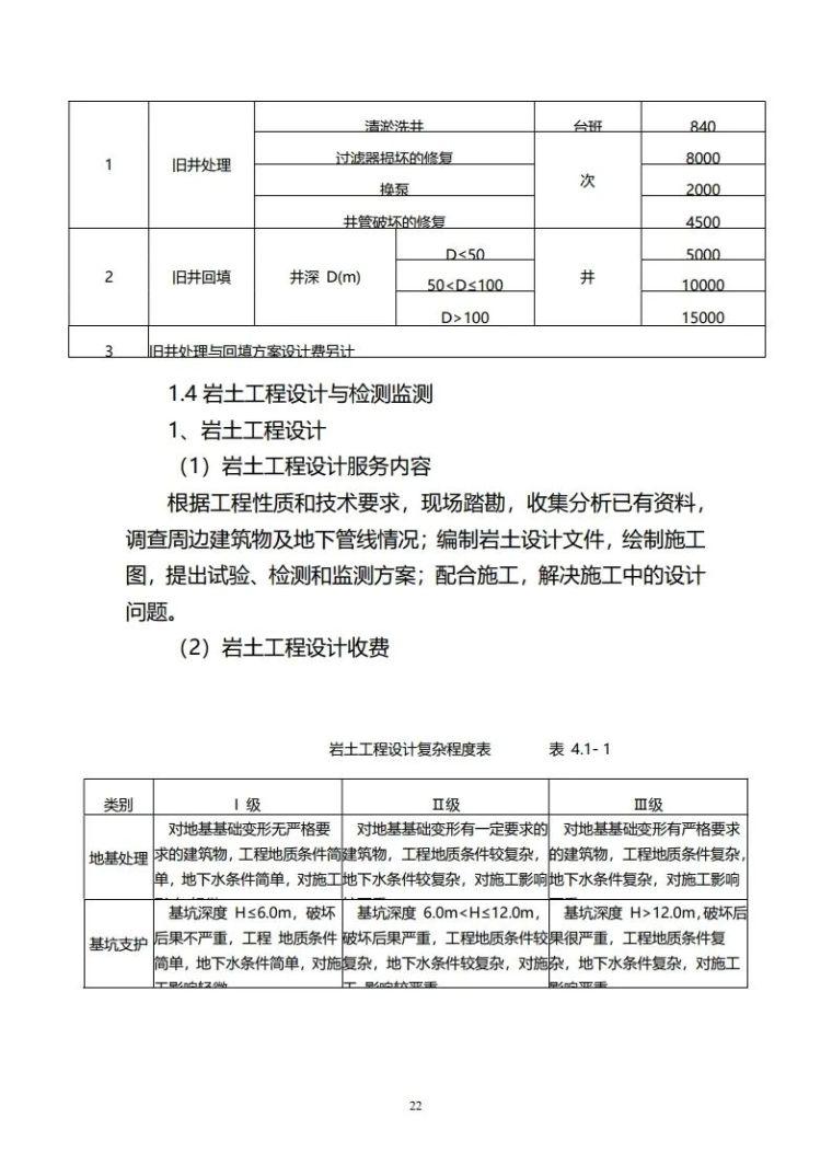 重庆市建筑市政工程勘察设计收费指导价新版_22