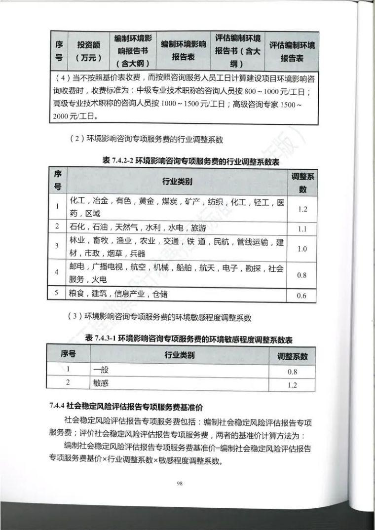 广西勘察设计收费指导标准更新版,建议收藏_109