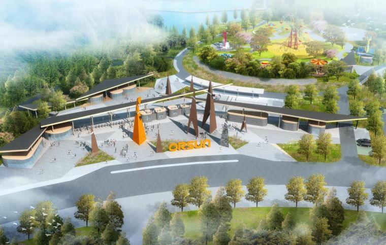 [湖北]现代运动旅游小镇山体公园设计方案_1