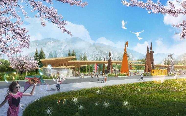 [湖北]现代运动旅游小镇山体公园设计方案_11