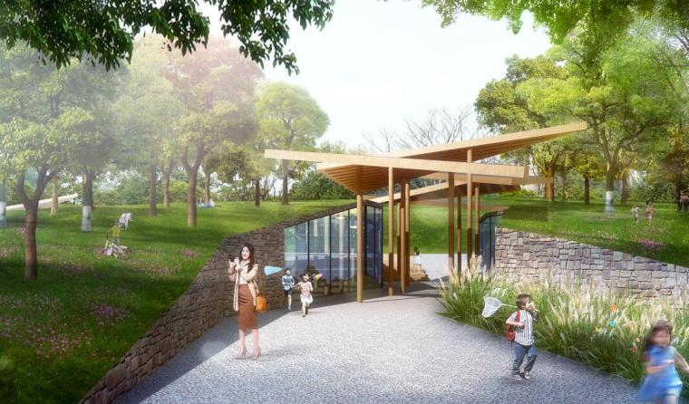 [湖北]现代运动旅游小镇山体公园设计方案_14