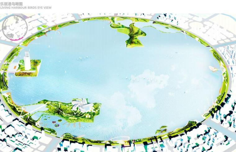 [上海]现代风格滴水湖公园景观概念方案设计_7