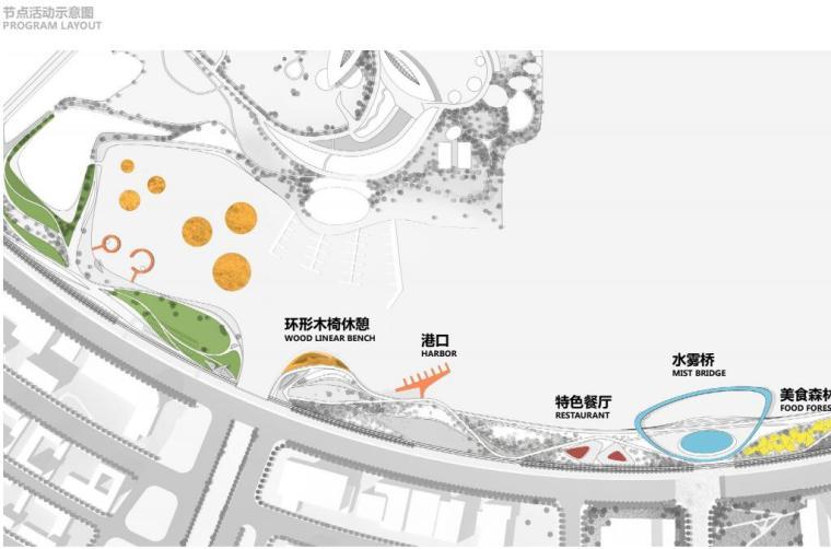 [上海]现代风格滴水湖公园景观概念方案设计_5