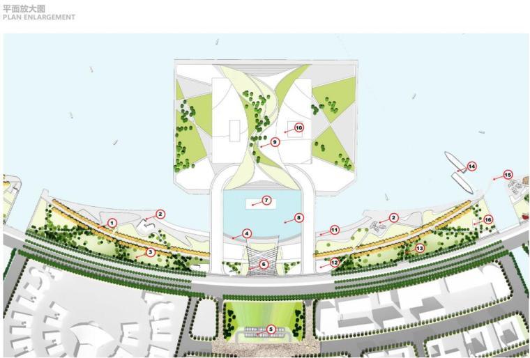 [上海]现代风格滴水湖公园景观概念方案设计_8