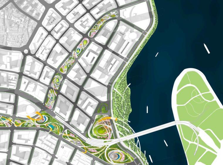 中央服务区核心道路及地下空间景观方案1_3