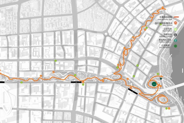 中央服务区核心道路及地下空间景观方案1_13