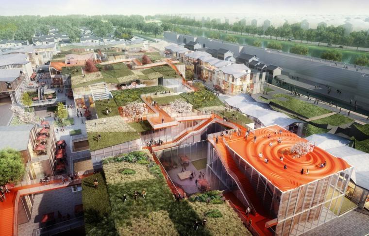 [江苏]大型现代风格多业态商业街区建筑方案_18