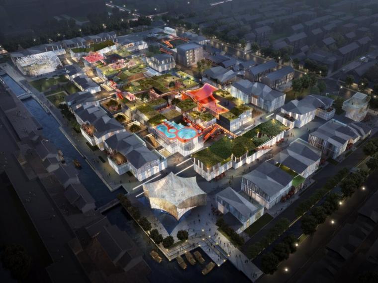[江苏]大型现代风格多业态商业街区建筑方案_19