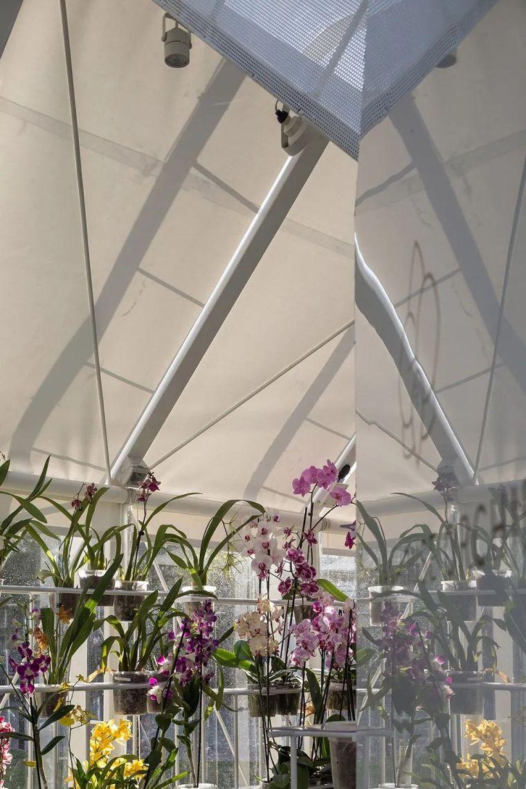 新作|兰花温室-被动式双层膜温室_9