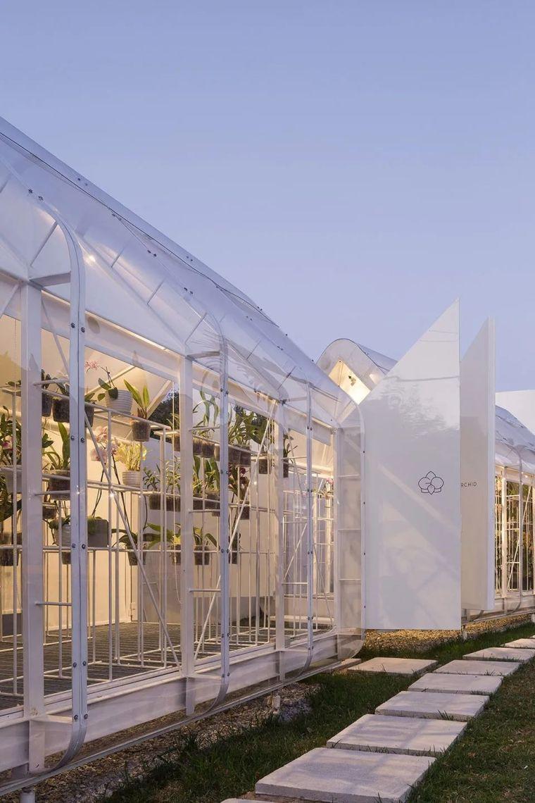 新作|兰花温室-被动式双层膜温室_12