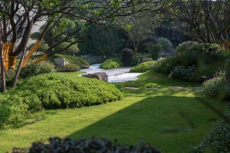 值得收藏的居住区景观植物配置方法!_4