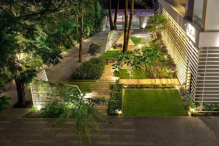 值得收藏的居住区景观植物配置方法!_45