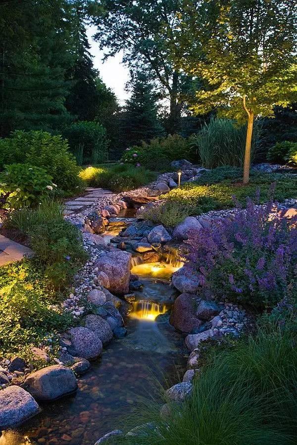 绝美庭院水景,太享受了!_7