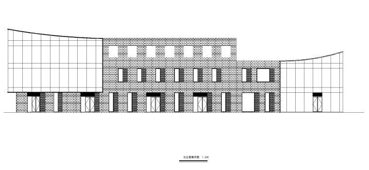 老街旧建筑改造利用-商墅-中式商业街施工图_1