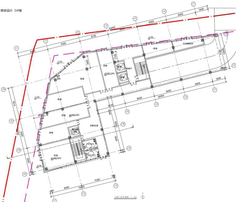 老街旧建筑改造利用-商墅-中式商业街施工图_2