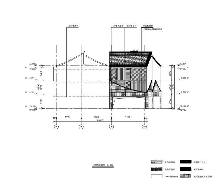 老街旧建筑改造利用-商墅-中式商业街施工图_4