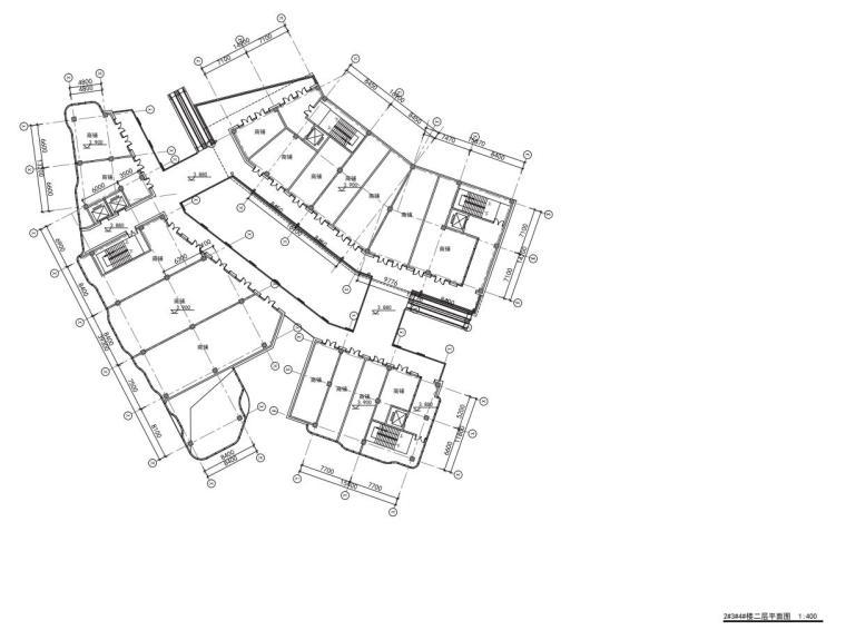 老街旧建筑改造利用-商墅-中式商业街施工图_10