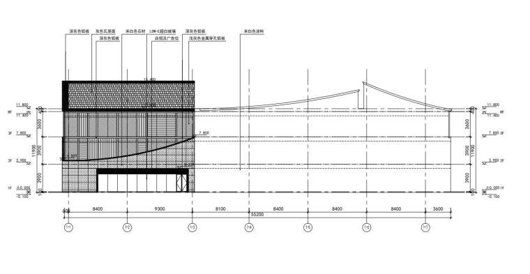 老街旧建筑改造利用-商墅-中式商业街施工图_6