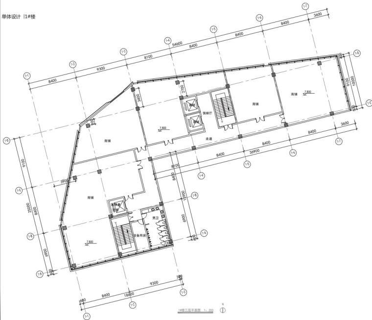 老街旧建筑改造利用-商墅-中式商业街施工图_7