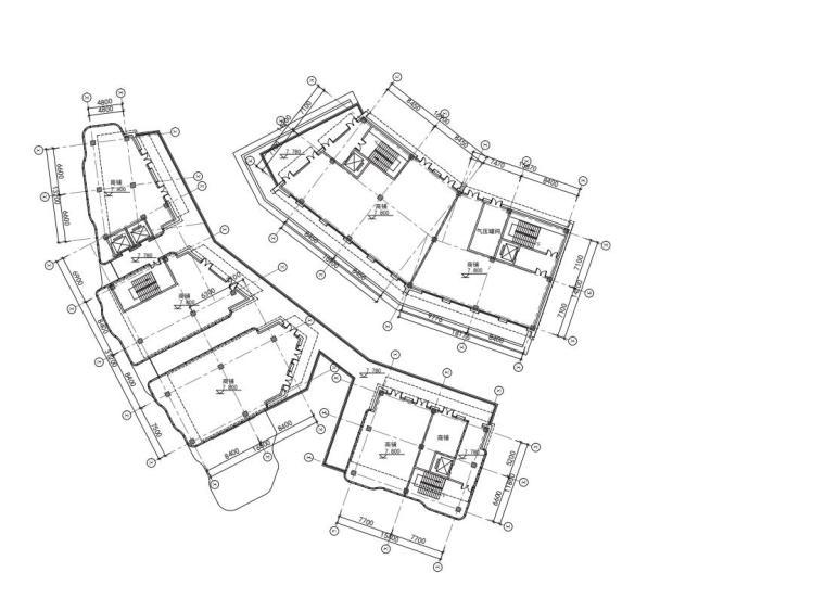 老街旧建筑改造利用-商墅-中式商业街施工图_12