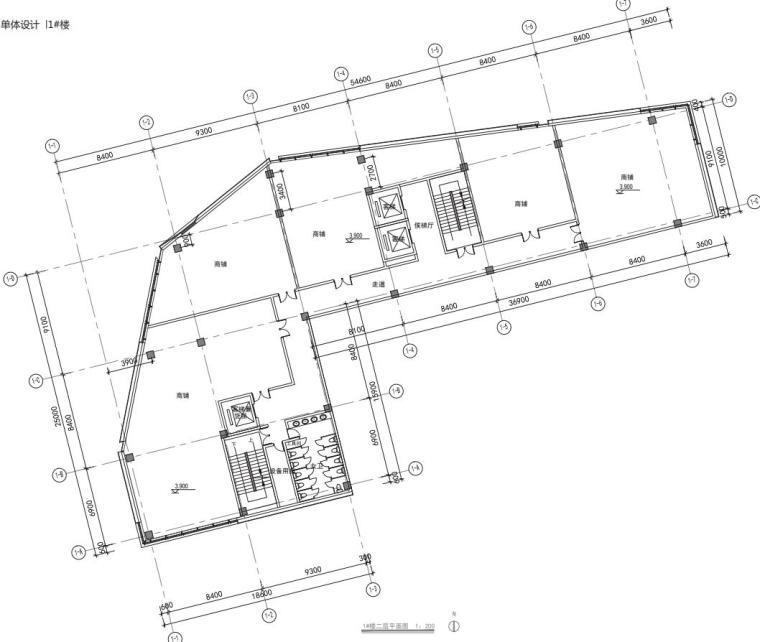 老街旧建筑改造利用-商墅-中式商业街施工图_5