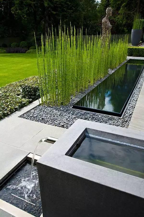 绝美庭院水景,太享受了!_11