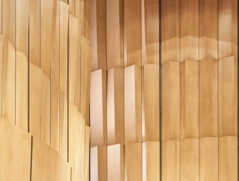 木构藻井天花,加拿大国家艺术中心改造_11