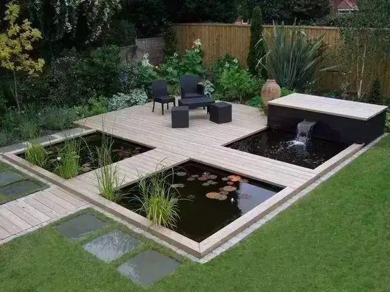绝美庭院水景,太享受了!_4