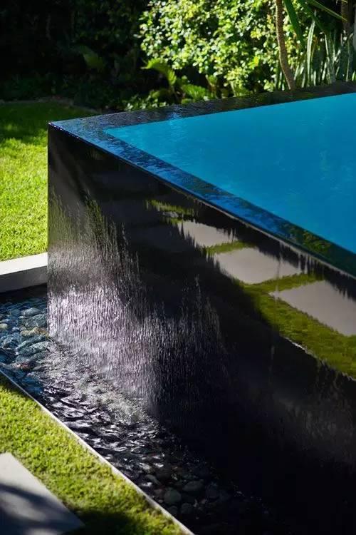 绝美庭院水景,太享受了!_3