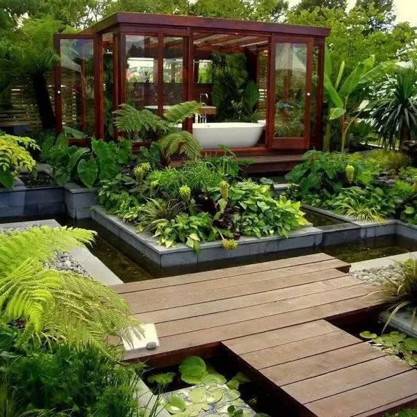 绝美庭院水景,太享受了!_21