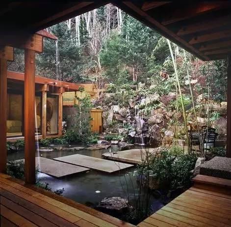绝美庭院水景,太享受了!_20