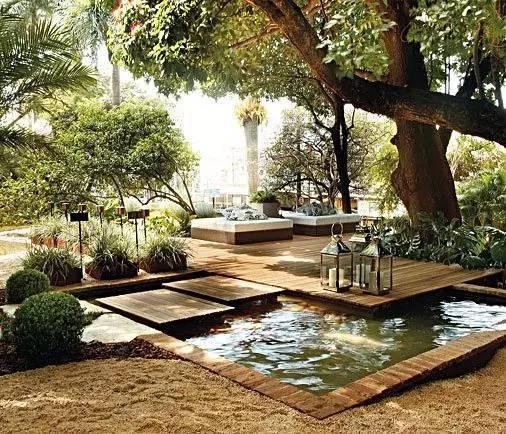 绝美庭院水景,太享受了!_23