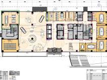 戴姆勒北京研发中心办公楼装修施工图设计