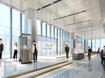 广发证券大厦新总部大楼室内装修设计方案二